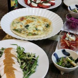 ◆鶏ハムでバンバンジー風サラダでおうちごはん♪