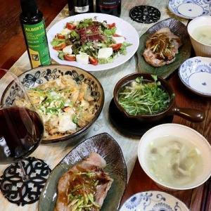 ◆トンテキでおうちごはん♪~緩やか糖質と発酵のおうちごはん♪
