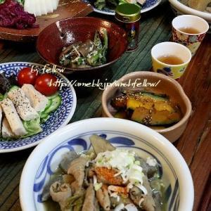 ◆コトコトもつ煮にショウゲンジ♪~緩やか糖質と発酵のおうちごはん♪