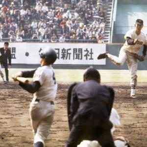 選抜高校野球大会で活躍した名投手を奪三振率にて比較。 断トツ1位は江川卓投手
