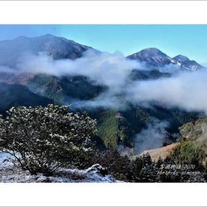 雪の日(御荷鉾山)