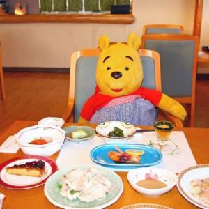 プーさん 秋田県仙北市田沢湖 水沢温泉 元湯水沢山荘に 今年も行ったんだよおおう その10