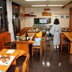 プーさん 長野県北安曇郡小谷村 来馬温泉 風吹荘で 年末年始を過ごしましたぁ その9