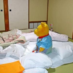 プーさん 長野県北安曇郡小谷村 来馬温泉 風吹荘で 年末年始を過ごしましたぁ その11