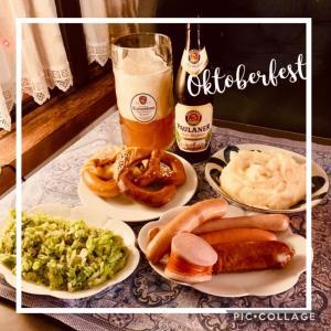 色々ソーセージで自宅Oktoberfest !!オクトバーフェスト