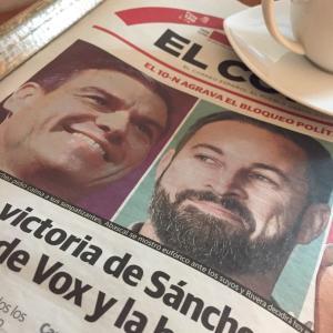 スペインの総選挙で極右政党VOXが大躍進