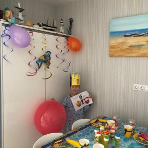 心優しい隣人さんと細やかな誕生日会