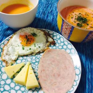 朝ごはん時間   -サルモレホ好き-
