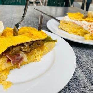 スペインオムレツ美味しいね -火祭り復活-