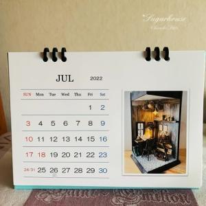 今月のパソカフェ*2022カレンダー作成
