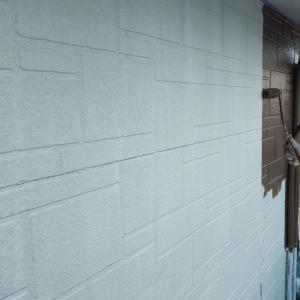 前橋市Y様邸 塗装作業状況2