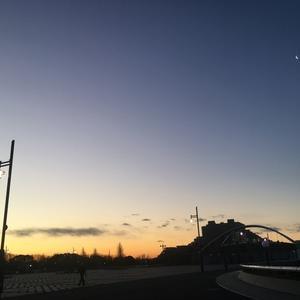 日の出も早くなってきました。