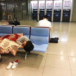 関西空港で寝なきゃいけない人へ。