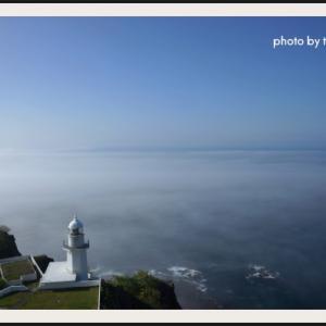海霧の美しい街室蘭