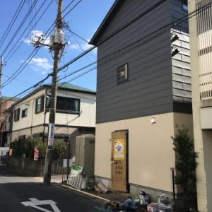 川崎子母口の住宅 足場がとれました!