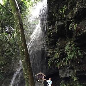 裏見の滝からの~ かなや明渓狭温泉~~♪
