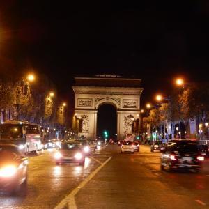 パリの夜景を巡るおすすめルート!夕方着でも十分観光出来る!