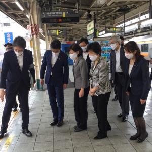 駅の安全対策を調査 ー阿佐ヶ谷駅の事故を受けて