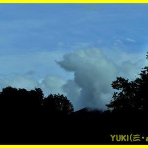 っぽい雲。