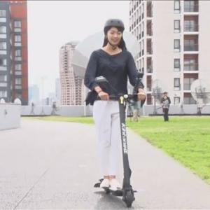 【乗り物】時速最大20キロ…公道走る電動式のキックスケーターは便利?安全?不安の声も 予約販売開始
