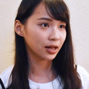 北大研究員に周庭さん 香港民主化デモの学生リーダー