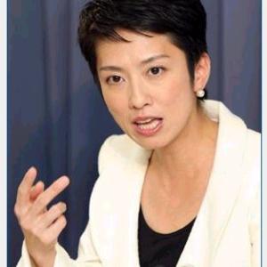 【立憲・蓮舫氏】台風被害「まずまずに収まった」…自民・二階幹事長の「認識」を批判