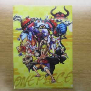 【セブン-イレブン】 「ONE PIECE」 オリジナルA4クリアファイル