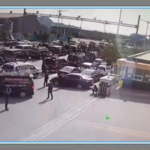 韓国でデモを見ていた外国人が集団暴行被害に=ネットで批判続出