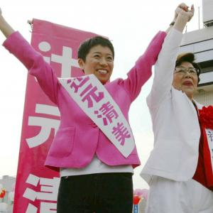 辻元清美氏 当選同期の菅首相に「共通点」で宣戦布告「叩き上げ対決、待っててね」