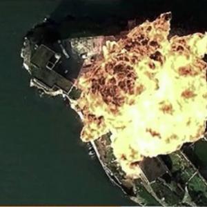 中国空軍、「米基地攻撃」の宣伝動画 ハリウッド映画の映像盗用?