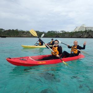2017年も残りわずか!沖繩恩納村・美麗透明獨木舟之旅+浮潛體驗