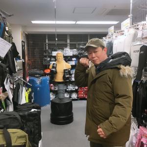 武心会代表 平野 一平さんがご来店下さいました。
