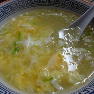 「焼肉」と「卵スープ」