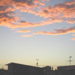 釧路の夕焼け雲が美しかった!