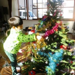クリスマスツリーの「糸」