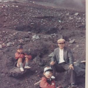 回想「片目の富士山登頂」