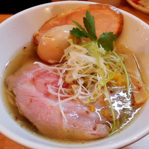 能登の塩と醬油を使った滋味深い鶏清湯ラーメン 麺匠 輪(わ) @ 深江橋 200724