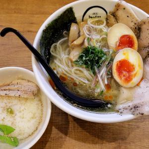 夏のらーめんは冷やしに限る! 麺創 麺魂 江坂本店 @ 江坂 210703
