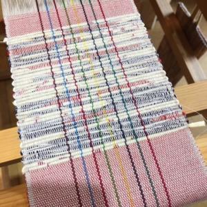 コースター織り