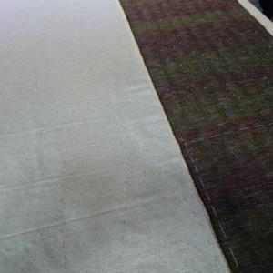 次の織布はこれ!セーターを創ります