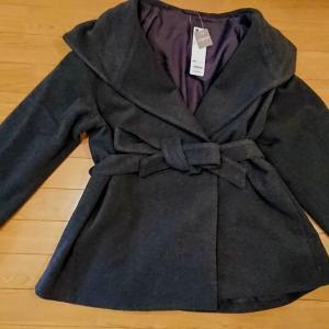 千円以下で買えたgUのコート