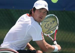 国枝慎吾がプロ転向記者会見 車いすテニスでは日本初 (障害者スポーツニュース)