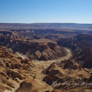ナミビア南部の大渓谷「フィッシュリバー・キャニオン」