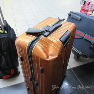 2018 ナミビア到着!スーツケース壊れる