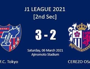[J1リーグ2021] ホーム開幕C大阪戦