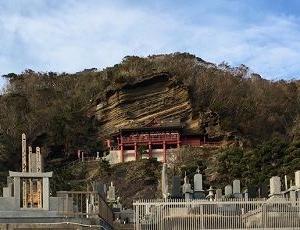 館山市の崖観音(大福寺)に行ってみました。