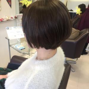 イメチェン☆くせ毛ショート