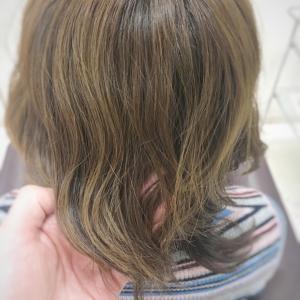 髪質改善で、すごくしっかりした髪質に☆