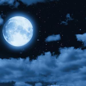 寝てた。今日はね、月がとてもキレイだったんだ。ちかさん。
