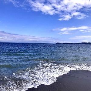 3707 【お魚料理122】去りゆく夏の海岸で「カレイの刺身」を・・三浦海岸